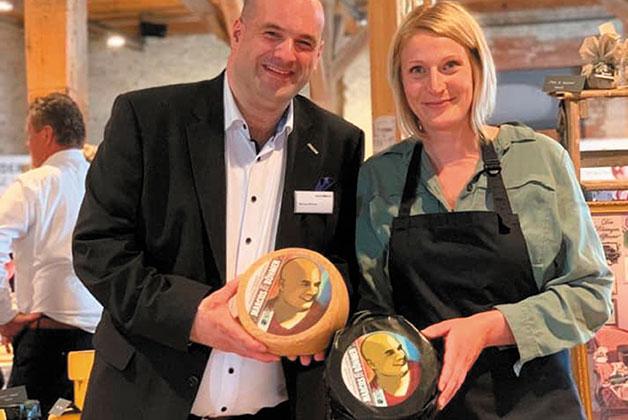 Marcus Böhmer mit Anke Heymach