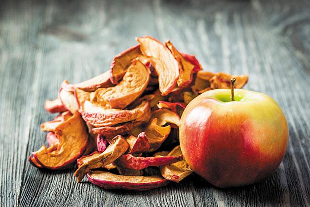 Apfel Trockenobst