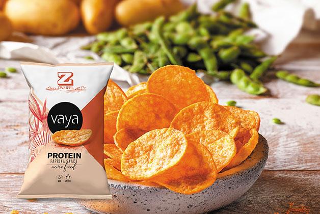 Vaya Paprika Chips in einer Schüssel